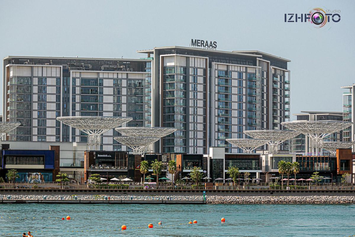 Отели и кафе Bluewaters Dubai фото