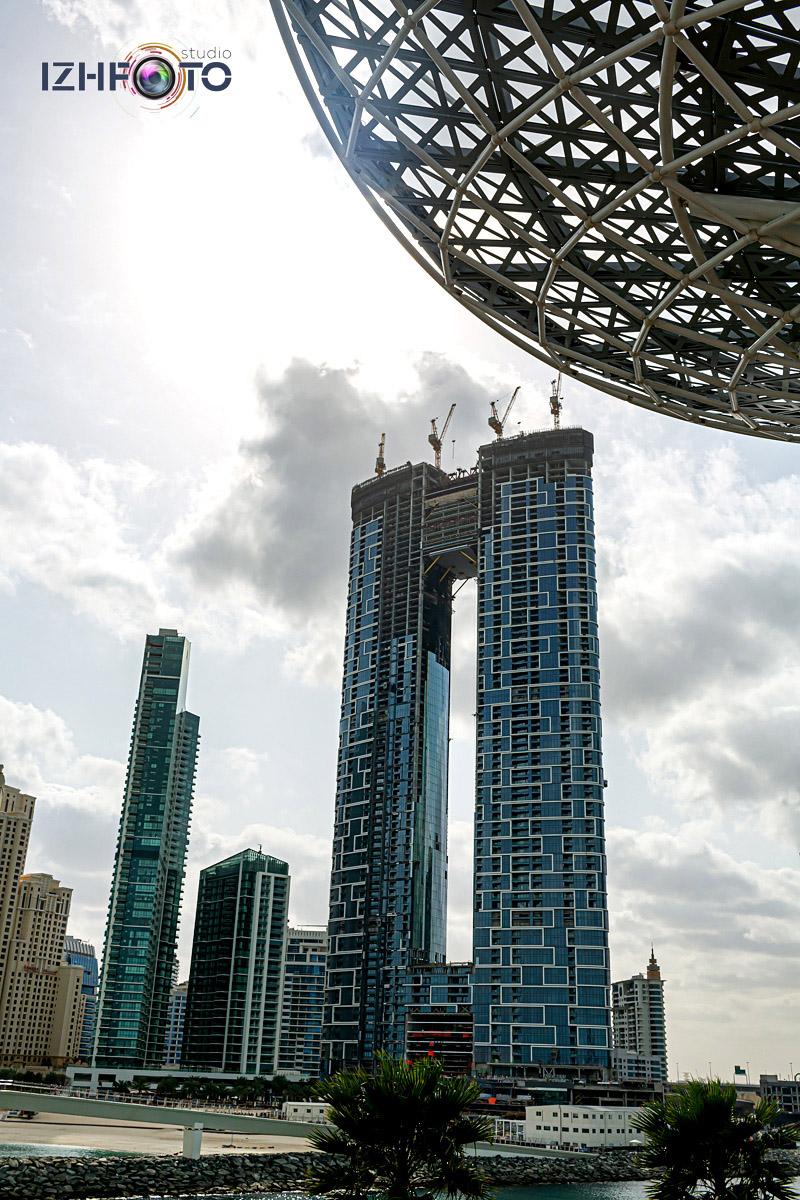 Фото с прогулок по району Bluewaters Dubai
