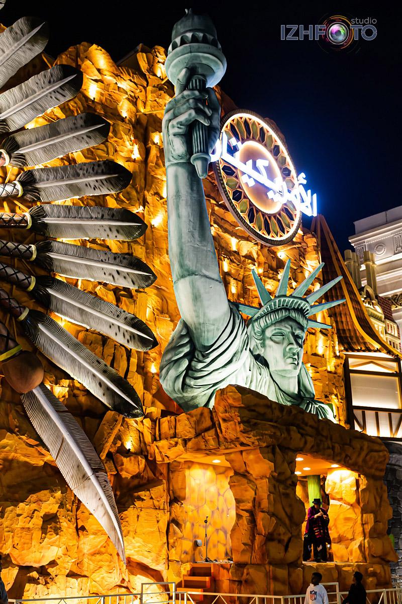 Аттракционы и развлечения в парке Глобал Вилладж Дубай