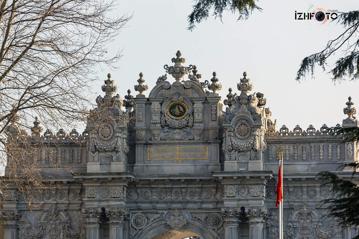 Дворец Долмабахче Стамбул Фото
