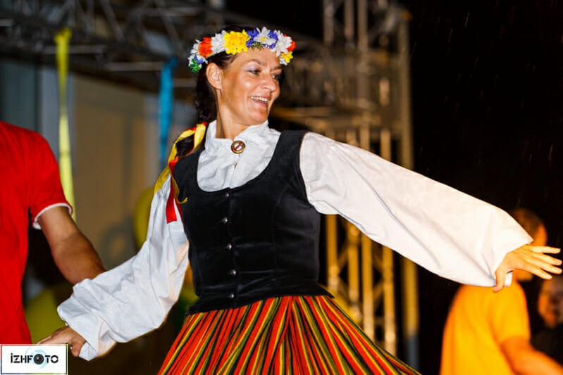 Фестиваль народно культуры в Ижевске