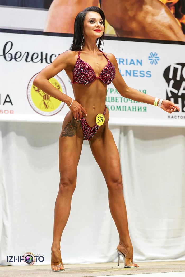 Фото с Конкурса Фитнес Бикини 2021 Ижевск