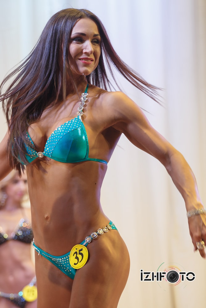 Чемпионат  Ижевска по фитнес бикини 2015