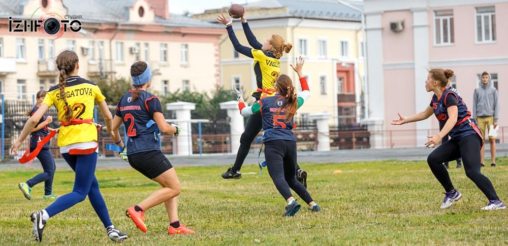 Команда Росомахи Ижевск флаг-футбол