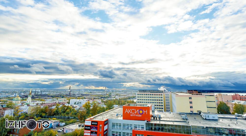 Фото Ижевск панорама