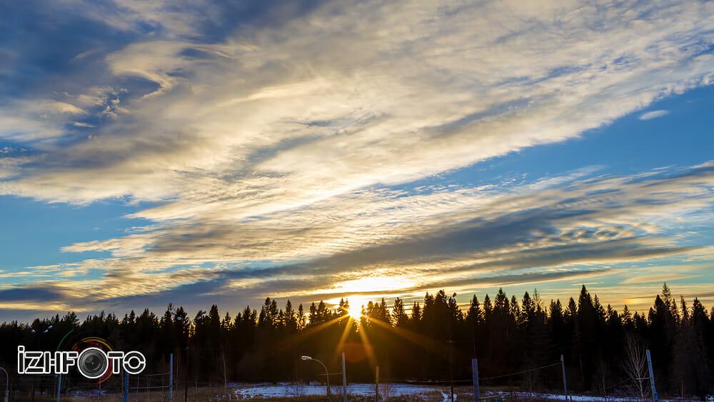 Небо Ижевск Фото