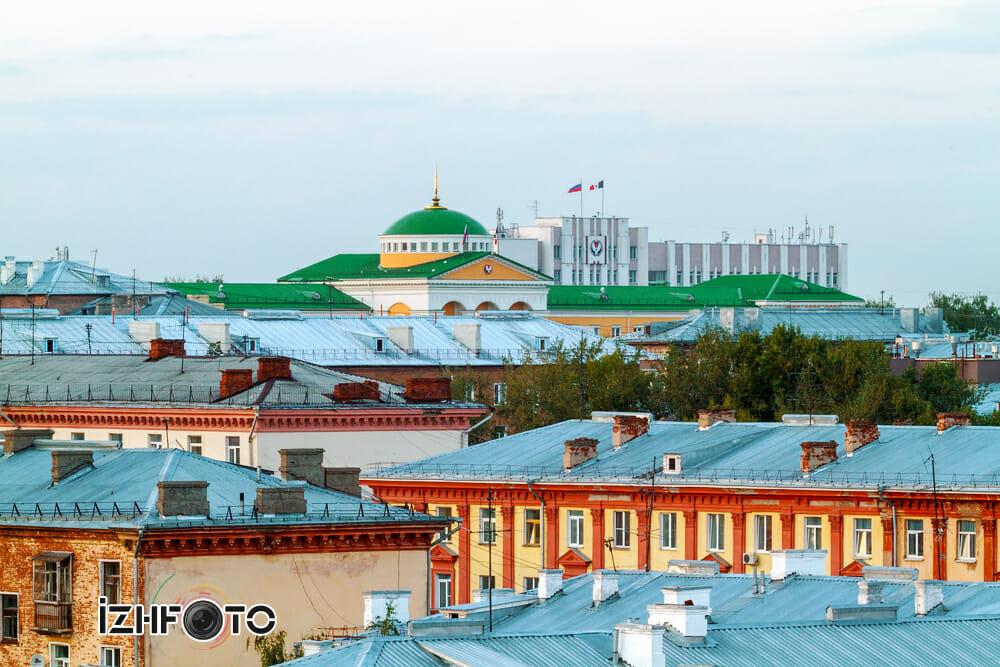 Панорама Ижевска