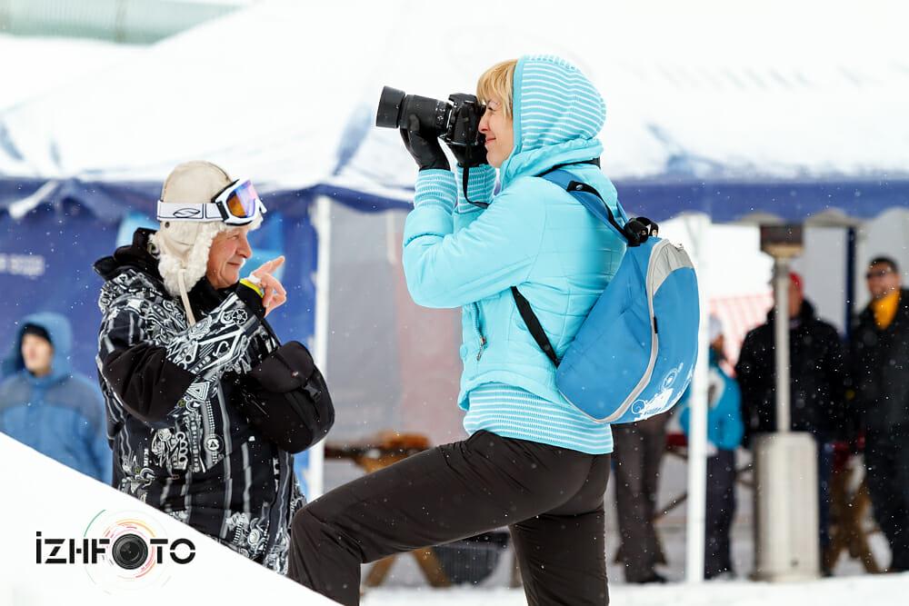 Зимой в Нечкино
