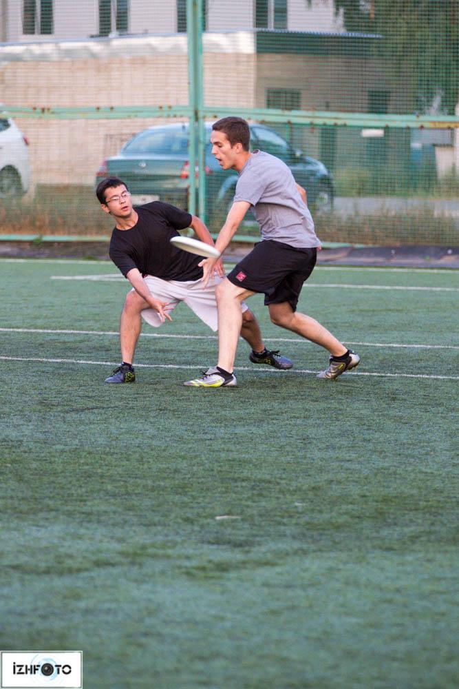 Фоторепортаж с тренировок по Ultimate Frisbee