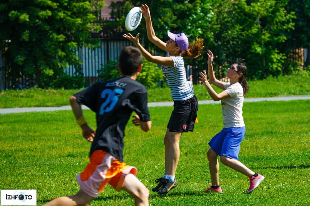 Тренировки по Ultimate Frisbee  Фото