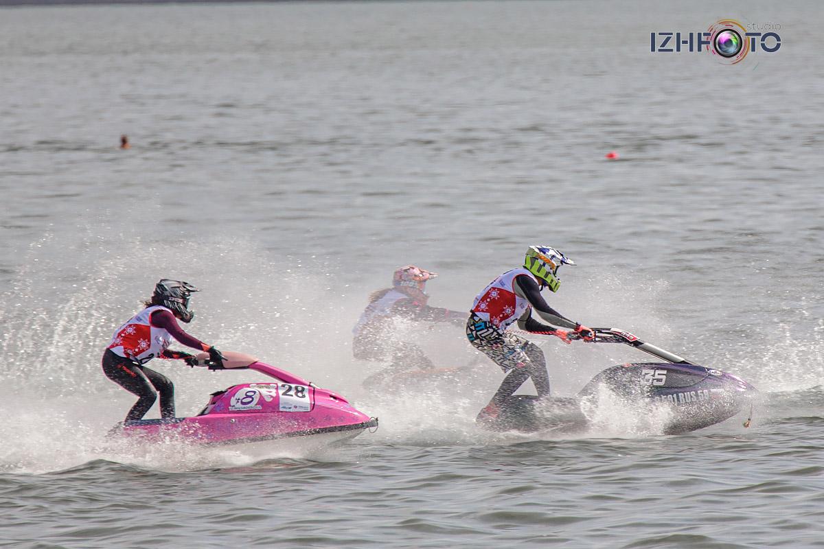 Фоторепортаж с соревнований по аквабайку
