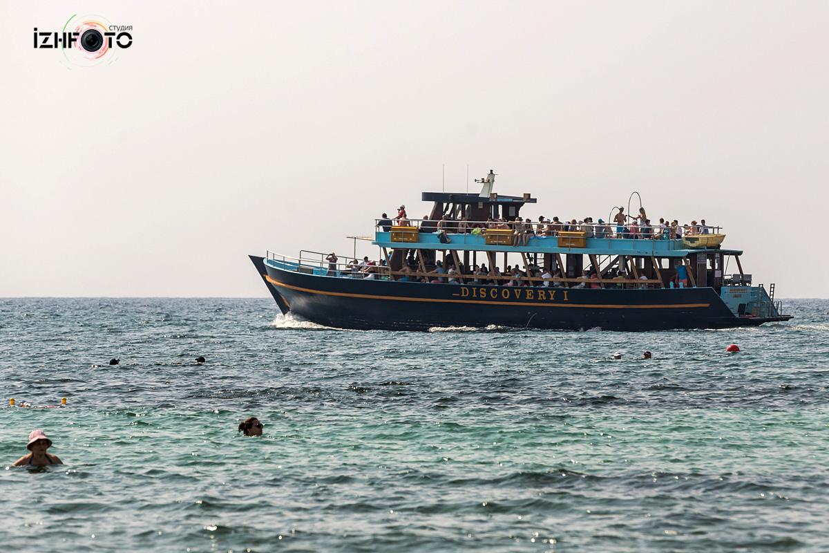 Морские прогулки Айя напа Кипр