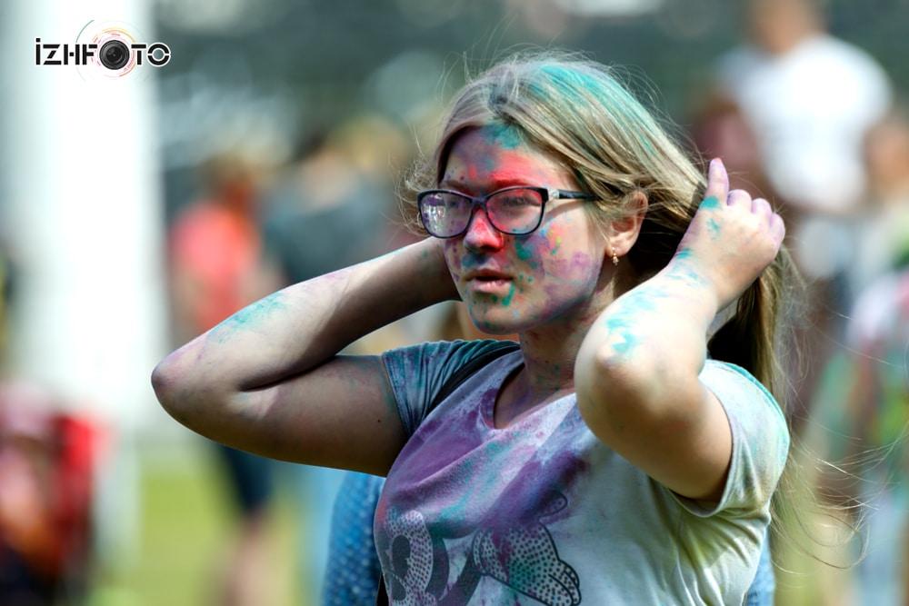 Фестиваль красок Холи 2016 Ижевск