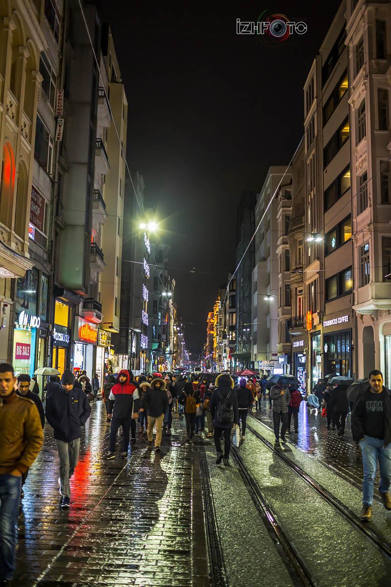 Фото улицы Истикляль Стамбул