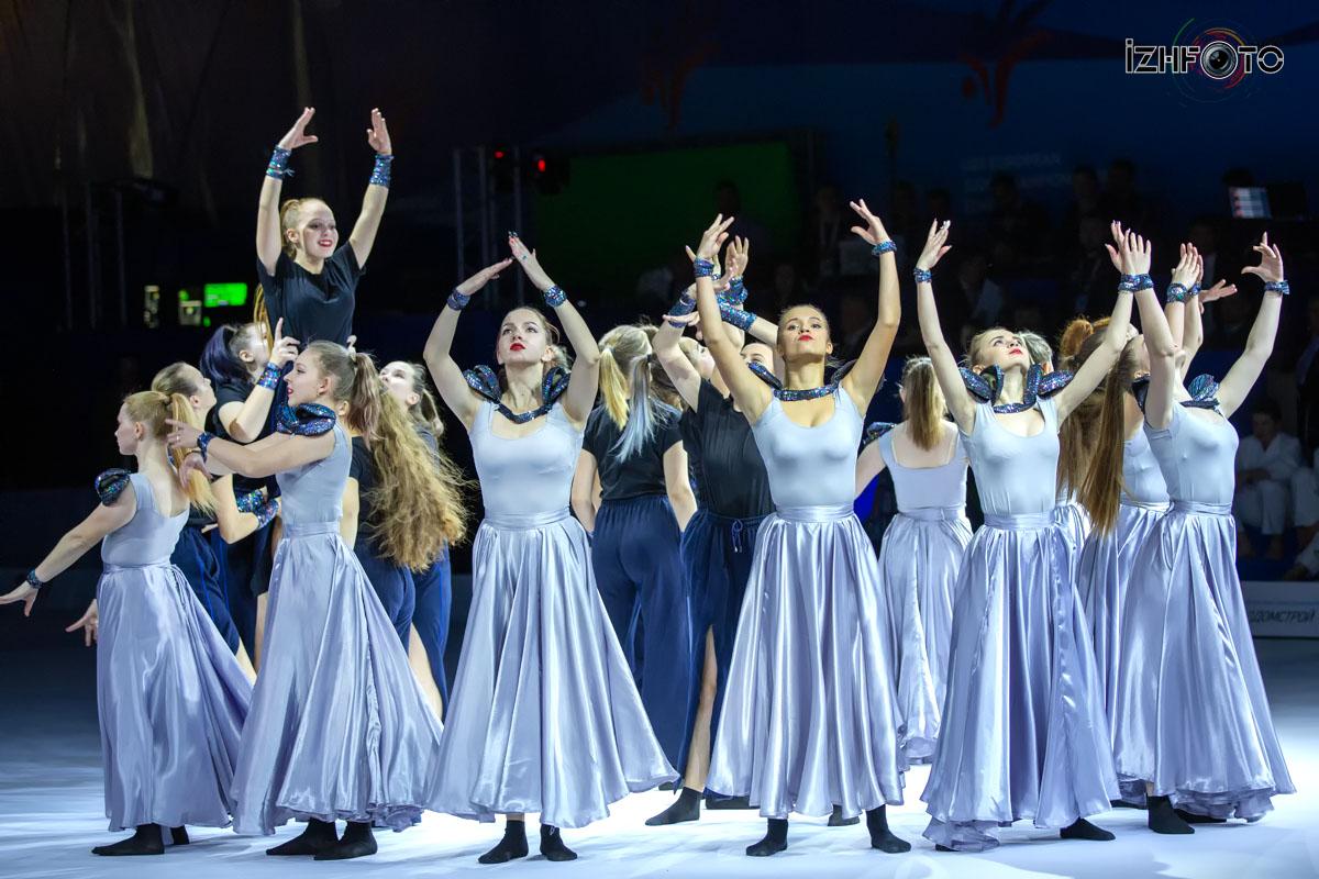 Фото с открытия чемпионата Европы по дзюдо в Ижевске