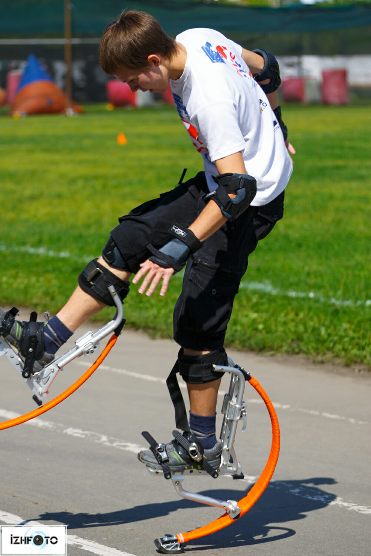Спорт в Ижевске: Джампинг