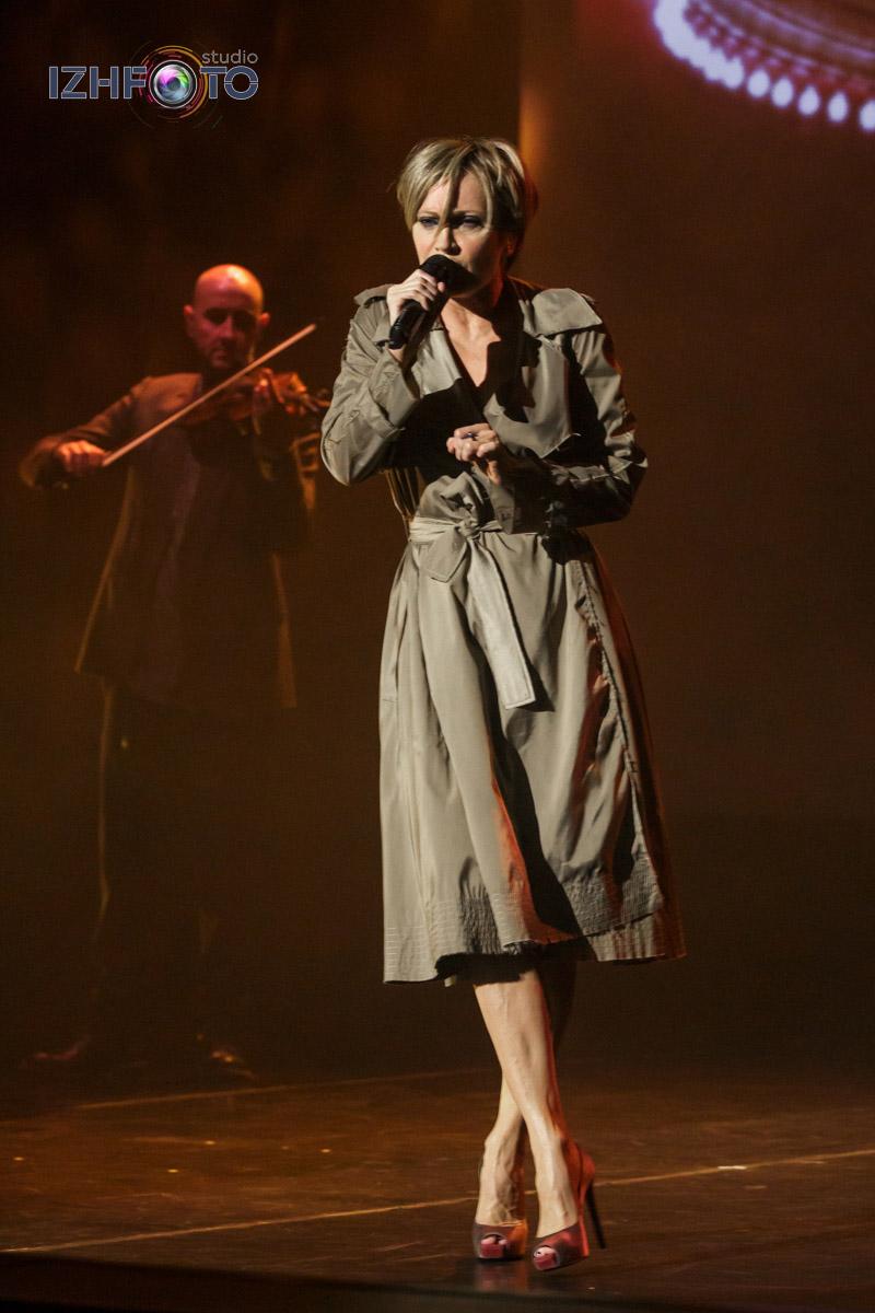 Фото с концерта Патрисии Каас