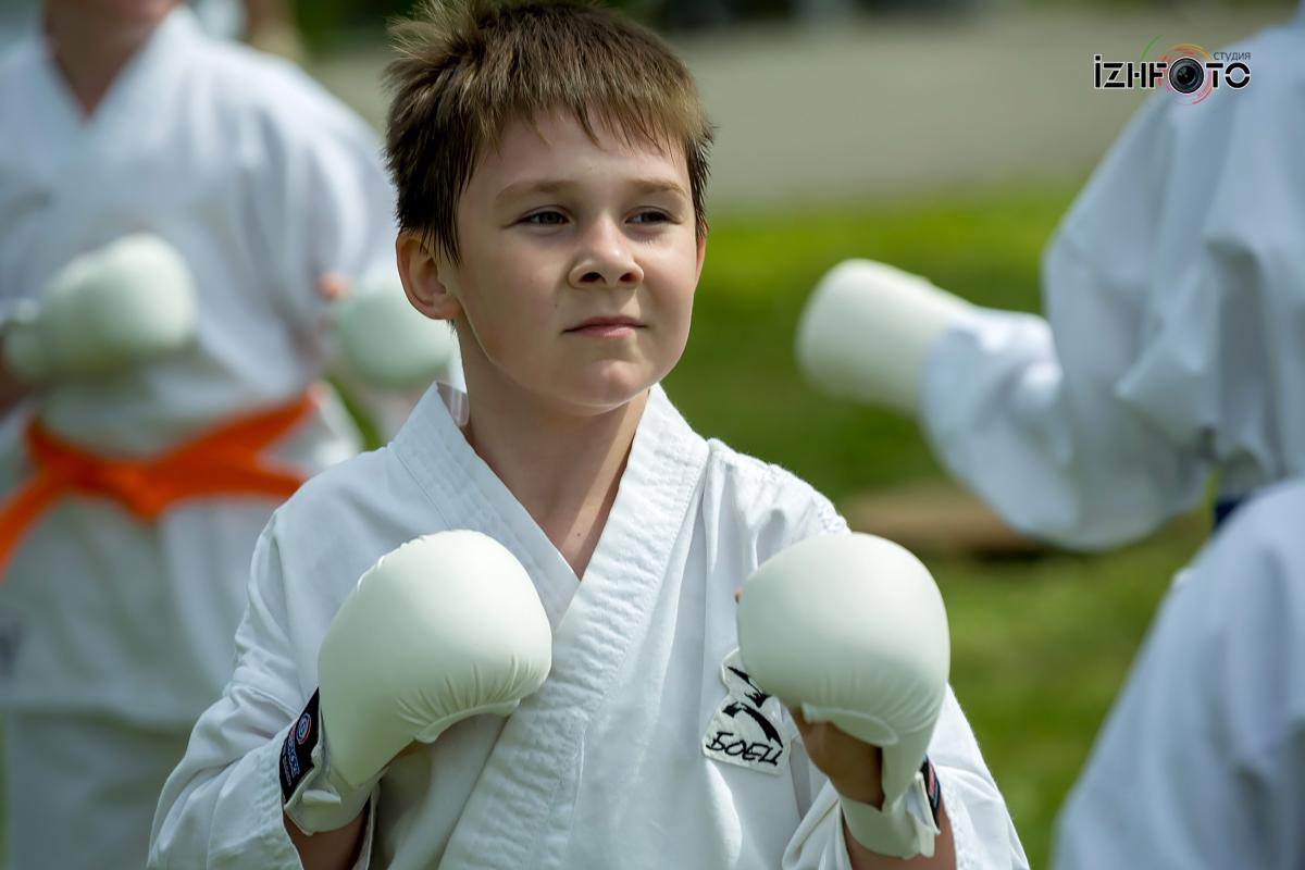Детские секции карате в Ижевске