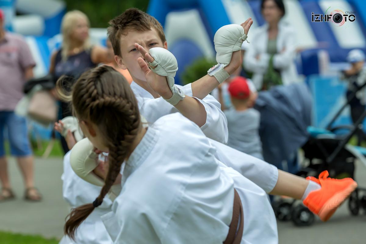 Юные спортсмены Ижевска Фото