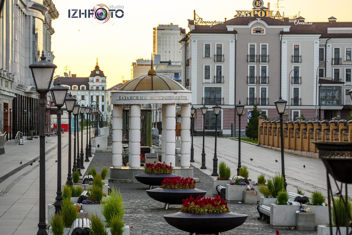 Фото улицы Петербургская в  центре Казани