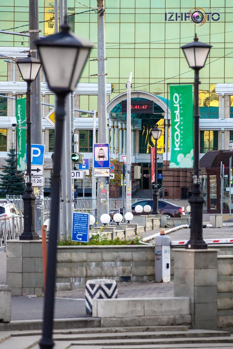 Фото центра Казани рано утром