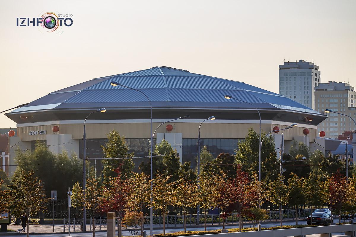Баскет-холл в Казани Фото