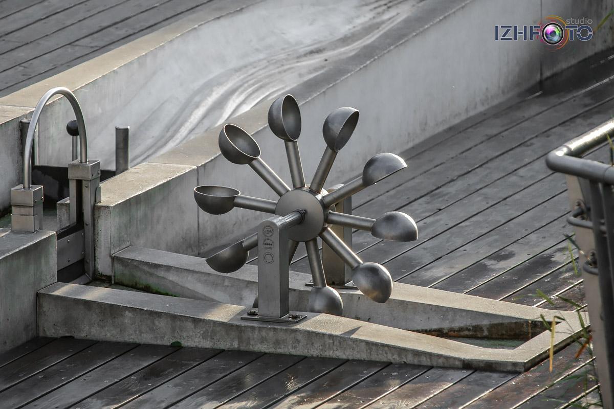 Hydrotech Playground на набережной казани Фото