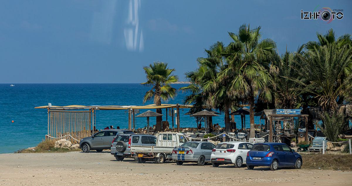 Море в районе Пафоса Кипр
