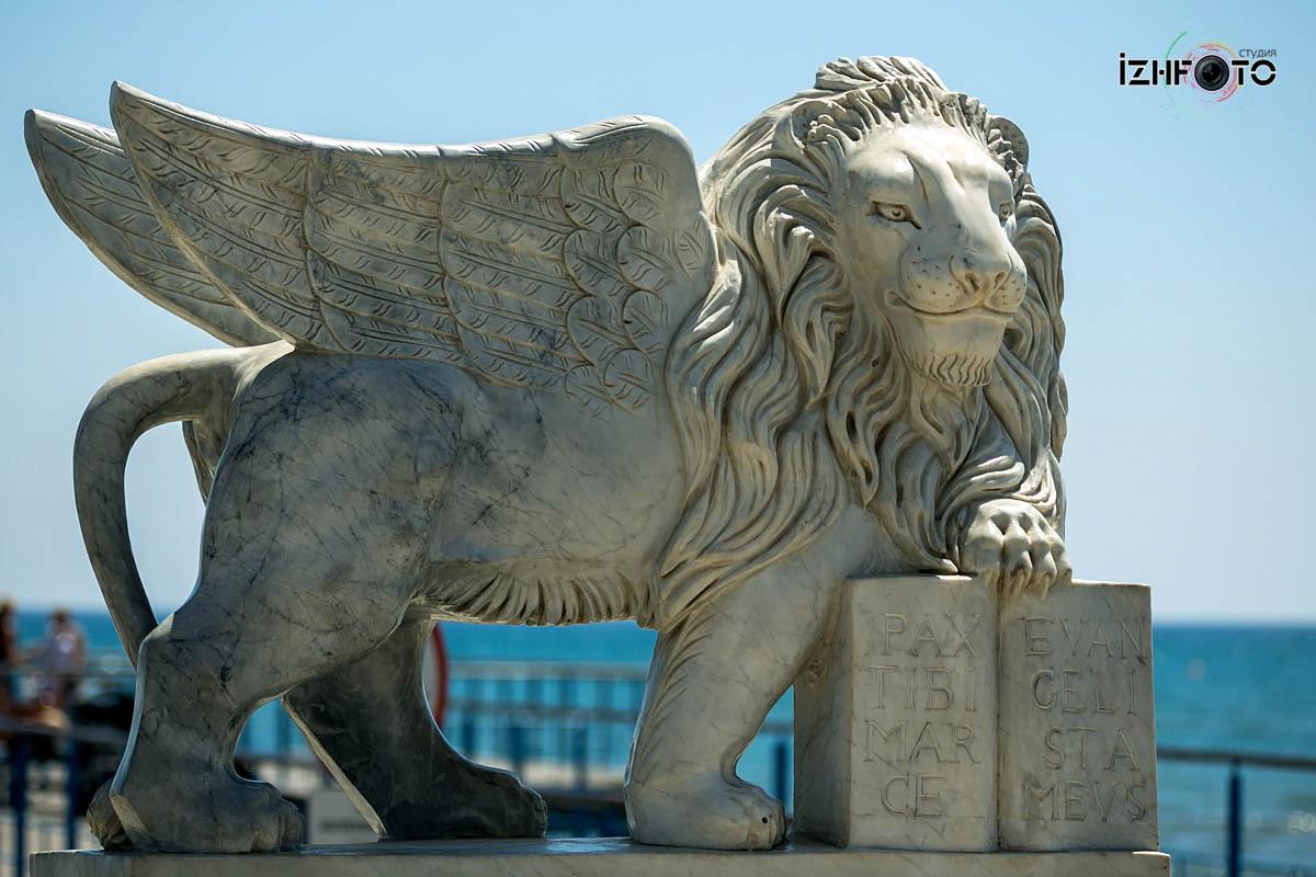 Набережная в Ларнаке Кипр Фото