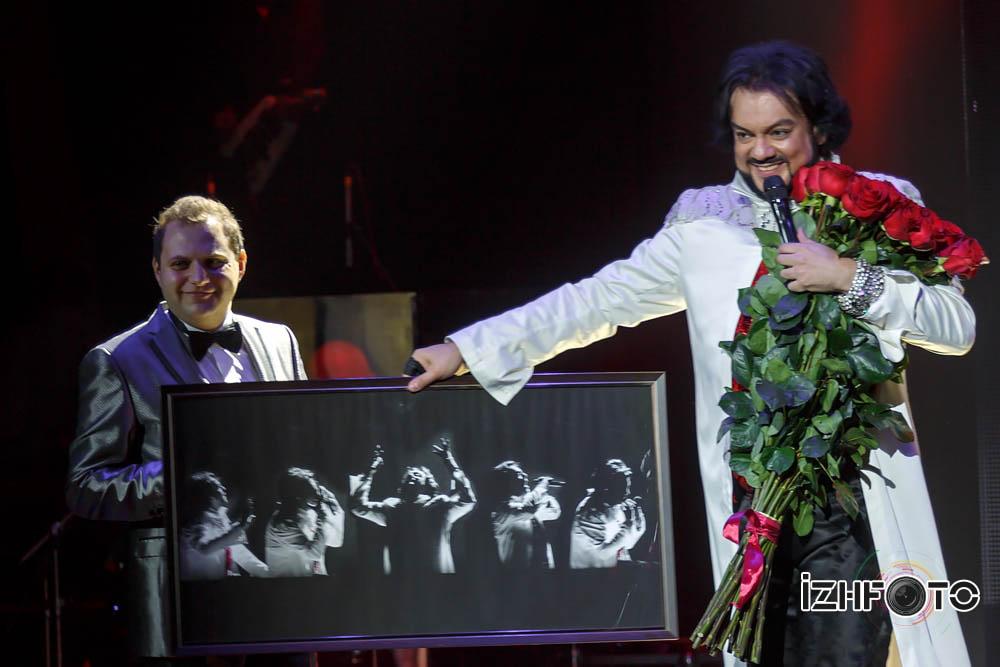 Филипп Киркоров в Ижевске Фото