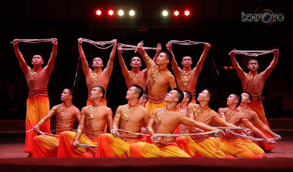 Китайский цирк в Ижевске