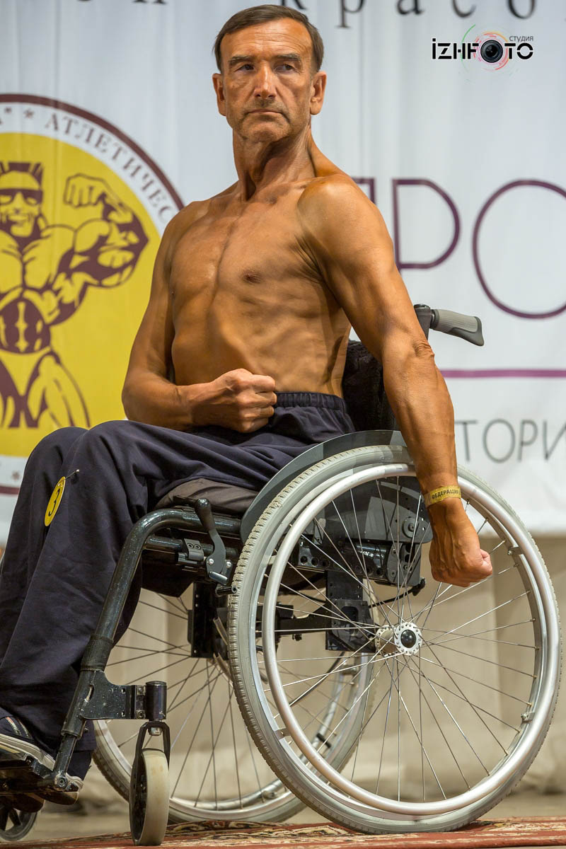 Чемпионат ПФО по бодибилдингу в Ижевске