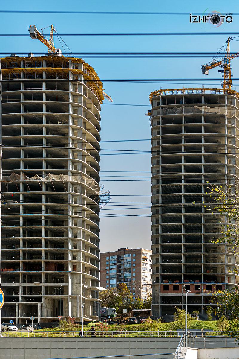 Фото строительства  ЖК Республика Ижевск
