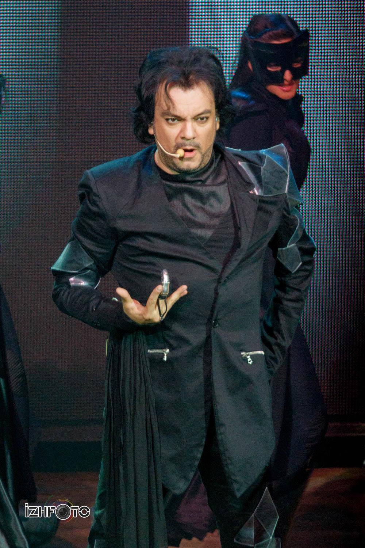 Фото с концерта Филиппа Киркорова в Ижевске
