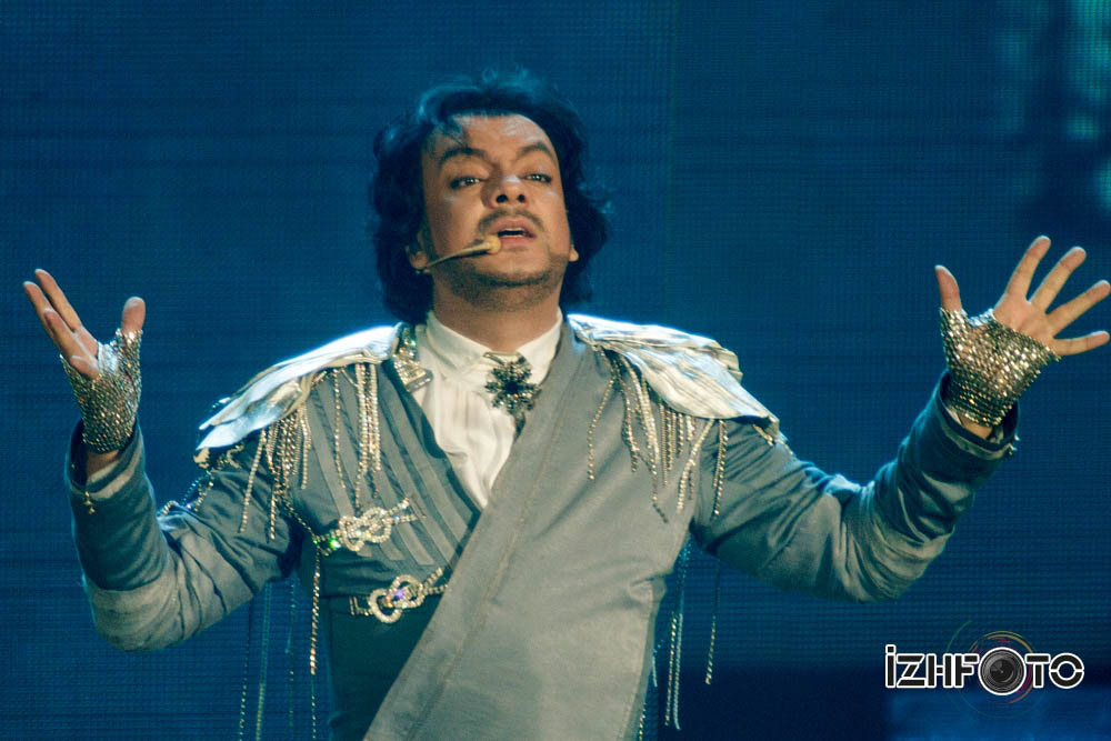 Концерт Филиппа Киркорова в Ижевске