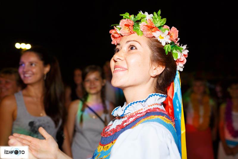 Молодежные гуляния в Ижевске
