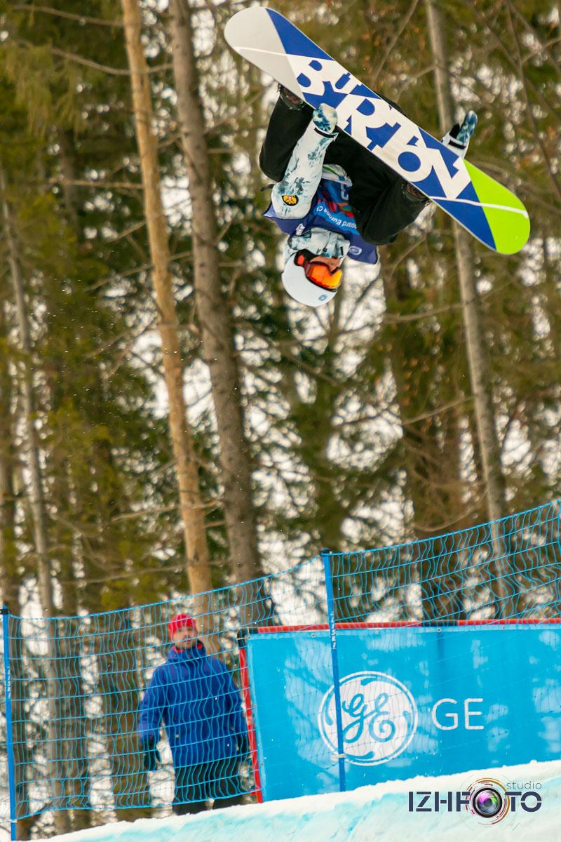 Катание на сноуборде в Ижевске