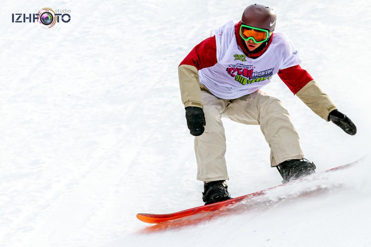 Сноуборд в Нечкино Фото
