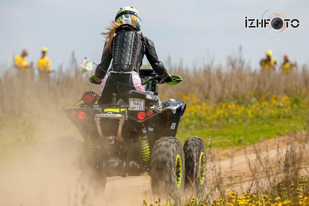 Штанева Таисия BRP Can-Am Renegade 800 ATV Владимир