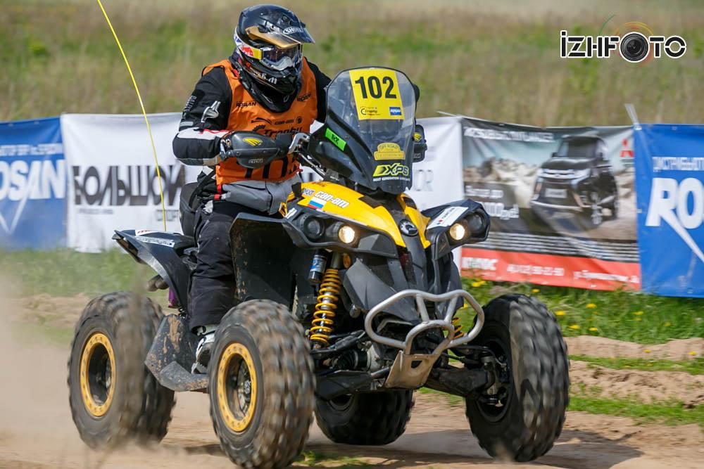 Вицюк Вячеслав Can-Am Renegade 1000 ATV Белореченск