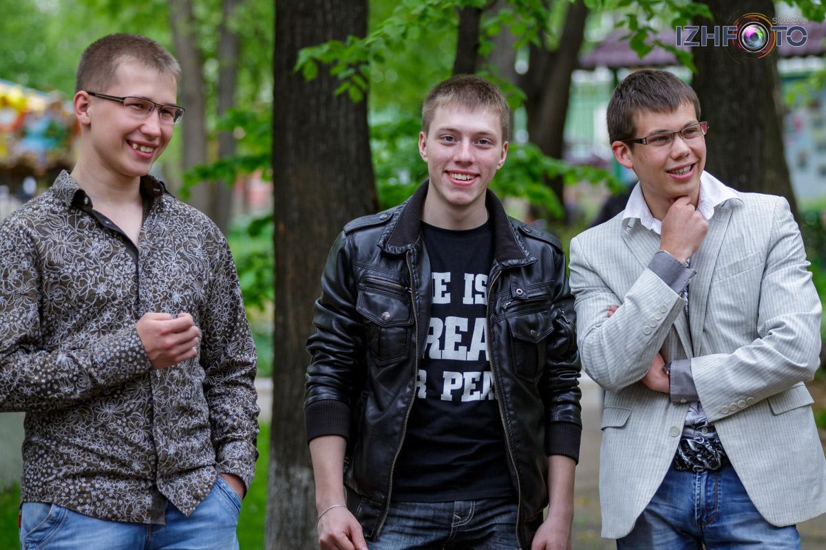 Последний звонок в Ижевске - парк Горького
