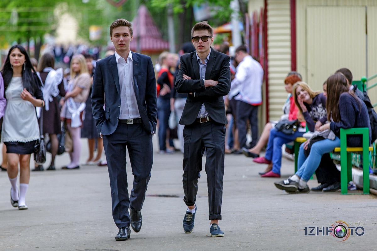Выпускники школ Ижевска