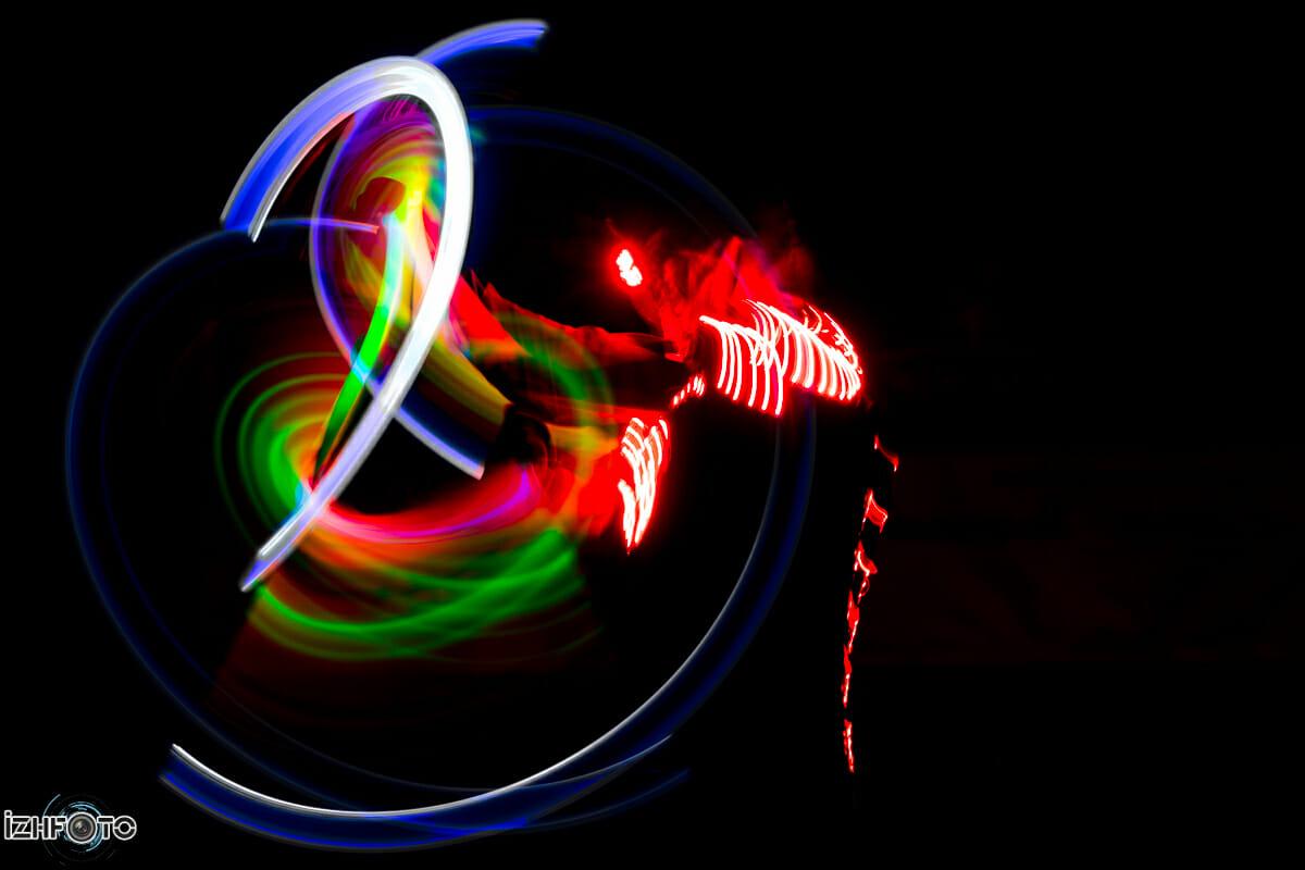 Шоу световых спецэффектов в Ижевске