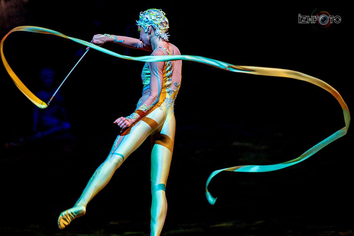 Самый необычный и самый красивый Цирк Дю Солей