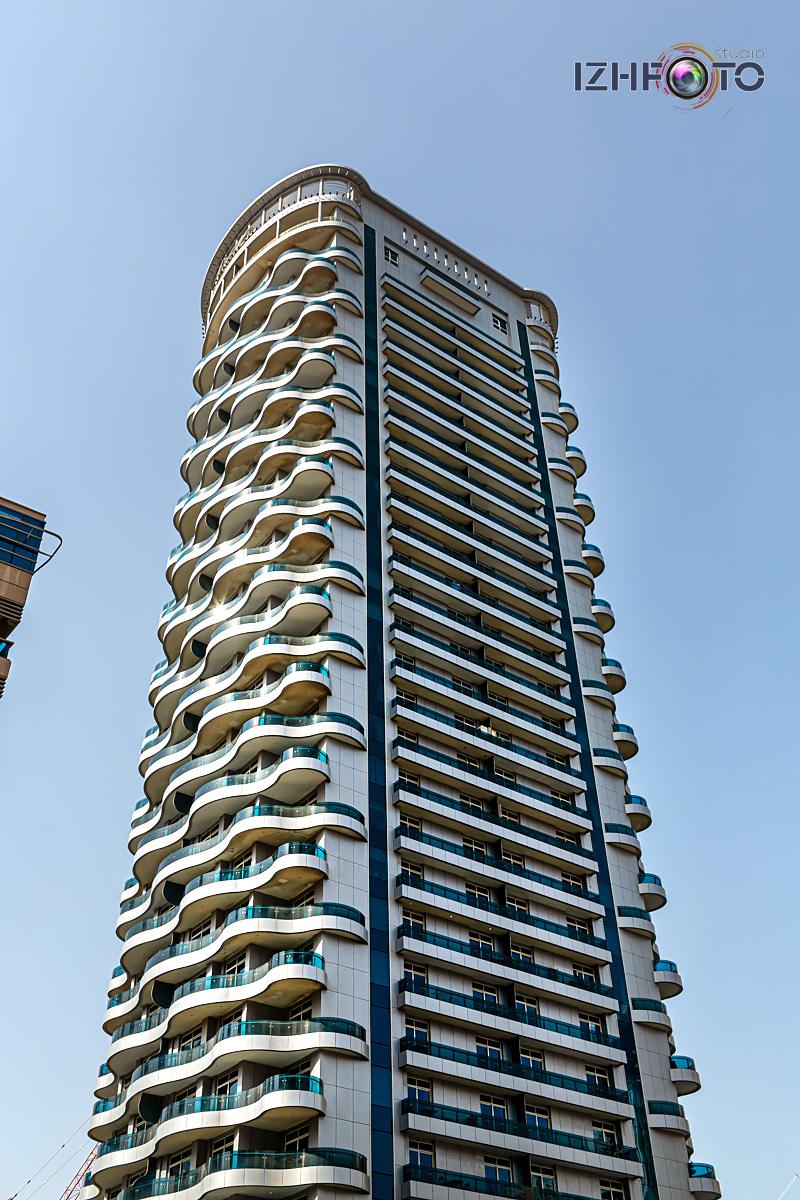 Небоскребы в Дубай Марине Фото