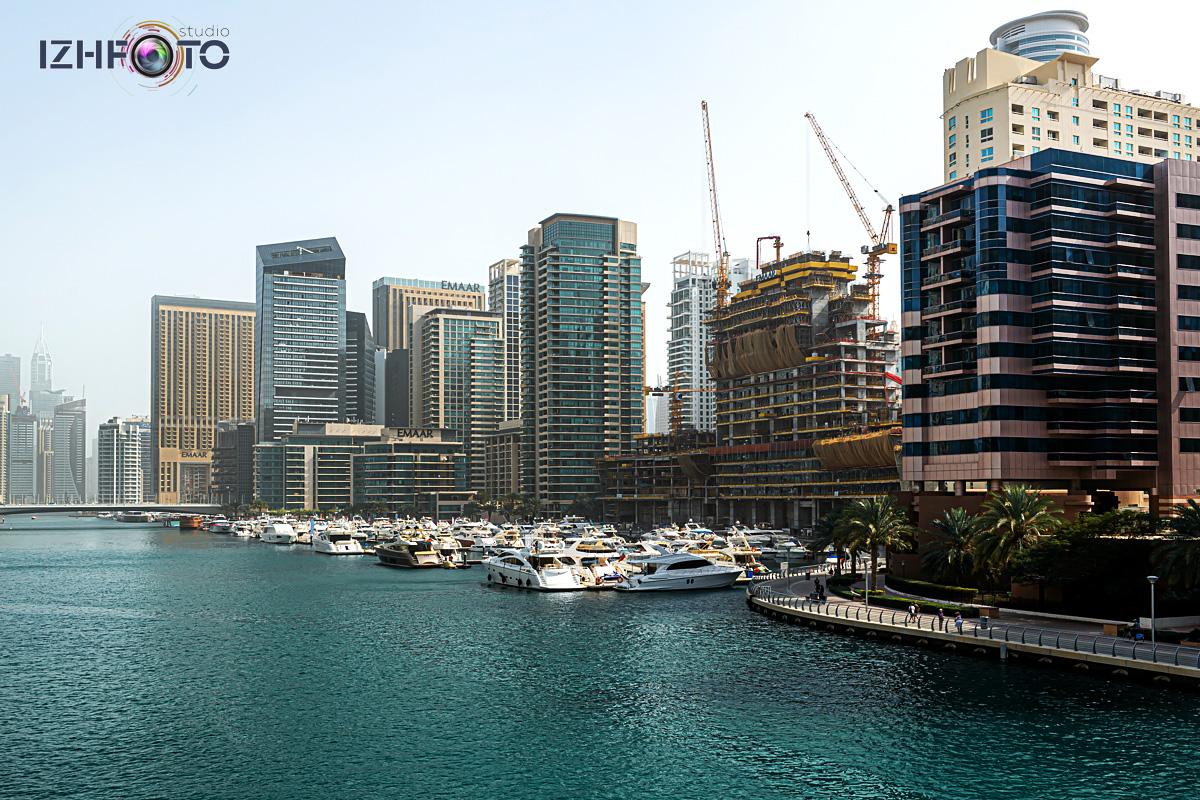 Строительство новых объектов в Дубай Марине