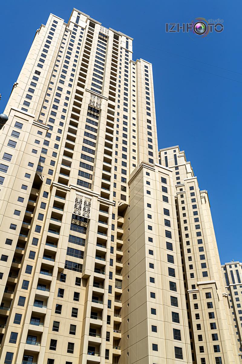Фото района Dubai Marina в Дубае