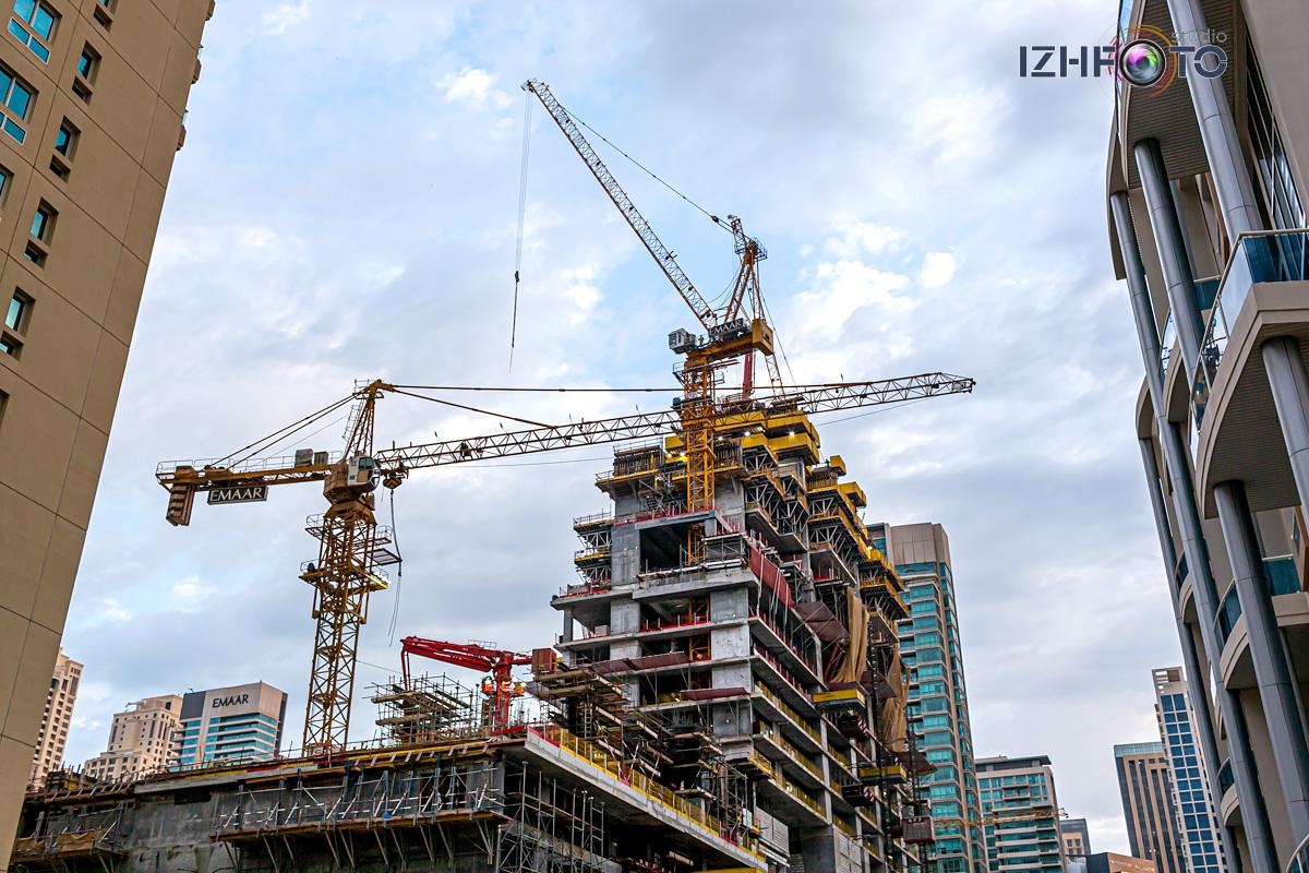 Новые стройки в Дубае