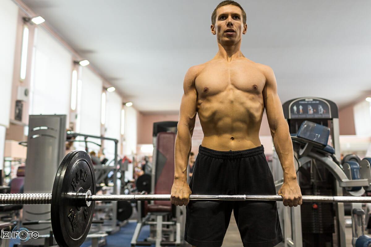 Занятия спортом в Ижевске: мужской фитнес