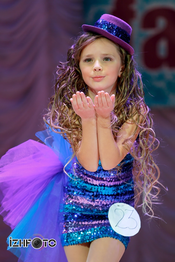 Конкурс юных принцесс студия Дельфин